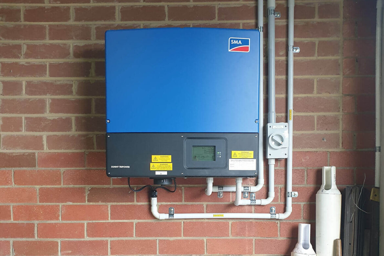 15kW SMA install