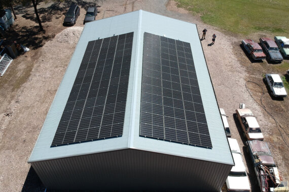 25kW install